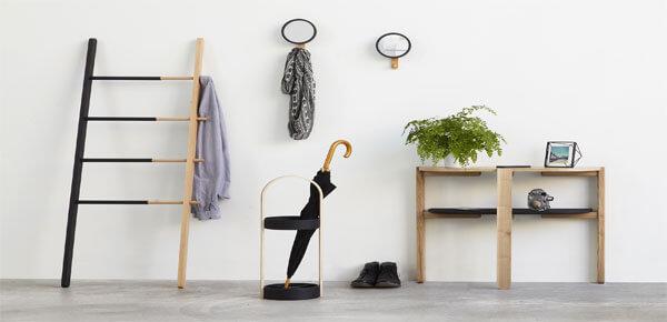Zomer woonkamer - decoratie laddertje