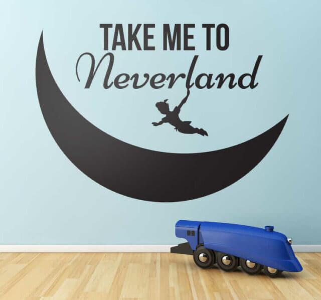 10. Take me to Neverland
