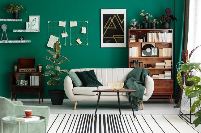 2. Gewaagd groen