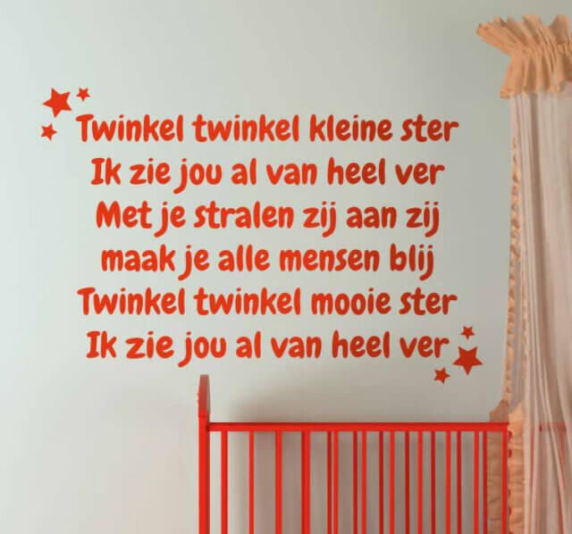 Twinkel twinkel kleine ster