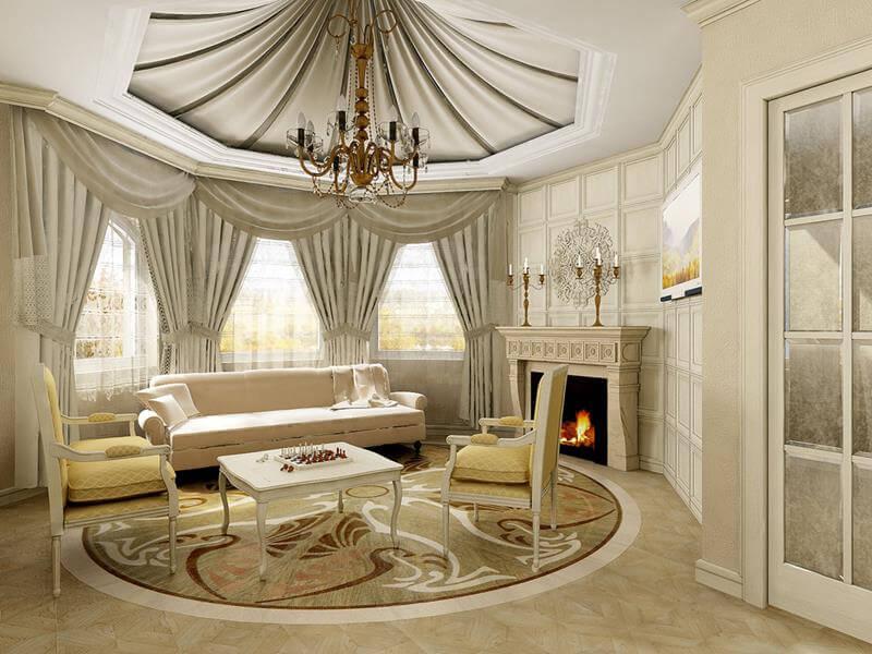 Franse woonkamer