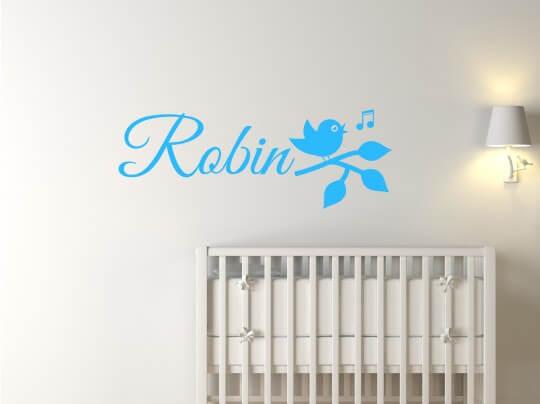 Robin - meermetstickers