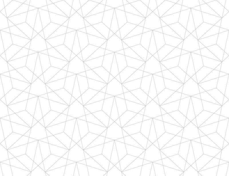 Modern grid behang in scandinavische stijl