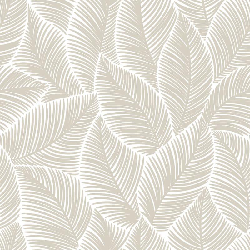 Bladeren op het behang