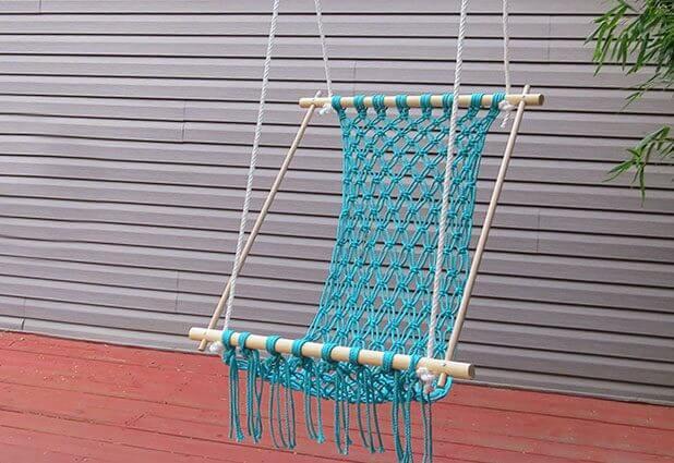 DIY hangstoel - ehow.com