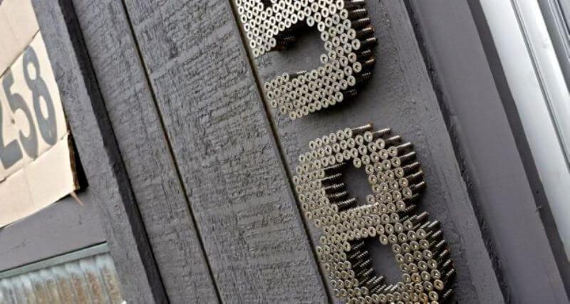 DIY huisnummer - craft.theownerbuildernetwork.co
