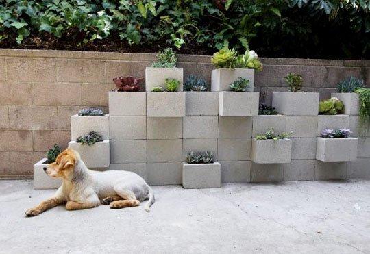 DIY plantenbak - apartmenttherapy.com