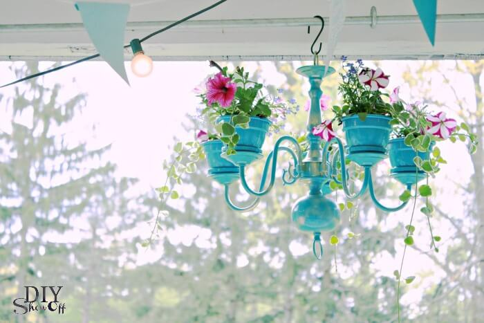 DIY plantenkandelaar - diyshowoff.com