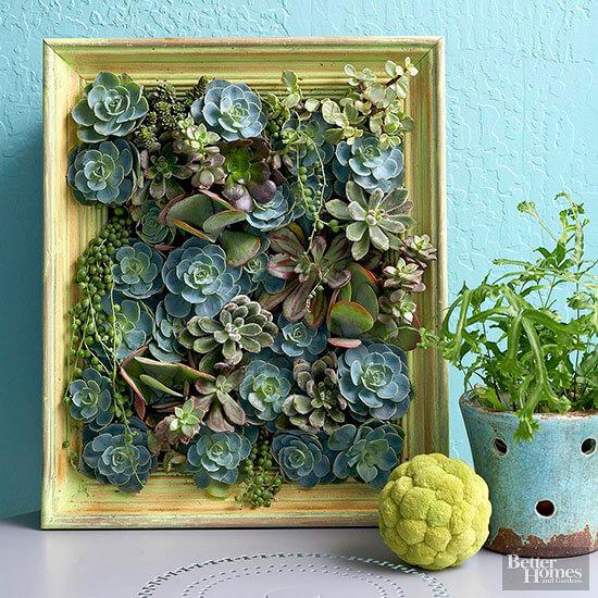 DIY plantenschilderij