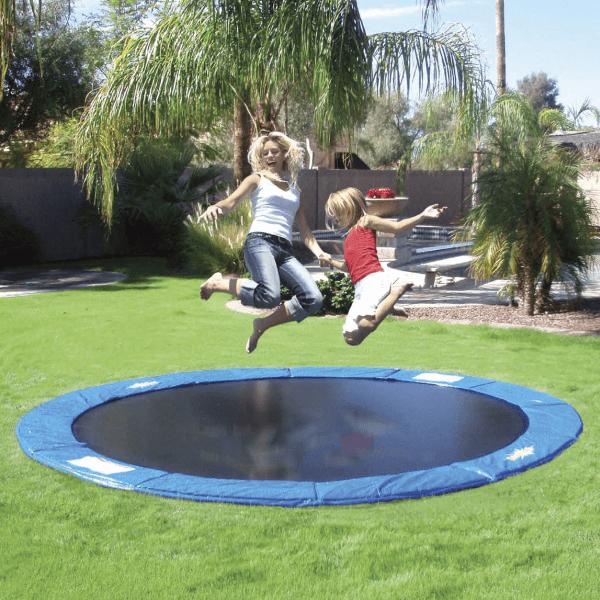 DIY trampoline - familyleisure.com