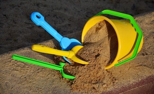 DIY zandbak