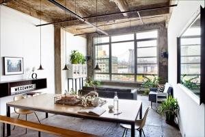 Industriele Loft Woonkamer : 15 voorbeelden van een prachtig industrieel interieur ik woon fijn