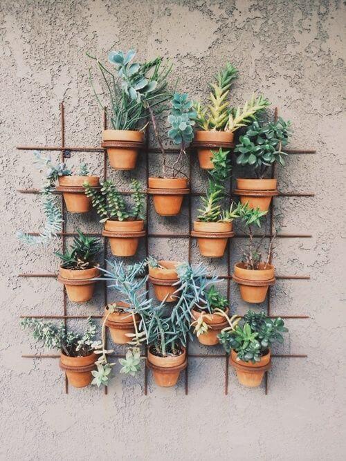 Schutting decoratie 50 creatieve idee n ik woon fijn for Wandrek tuin