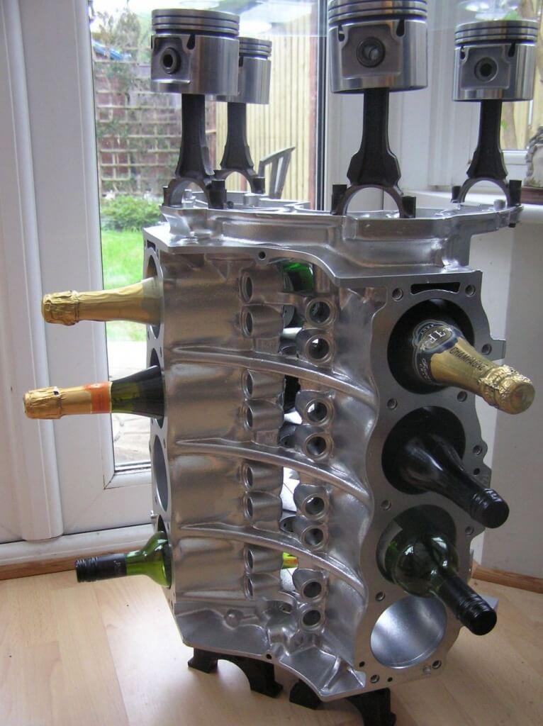 V8 flessenhouder - carthrottle.com