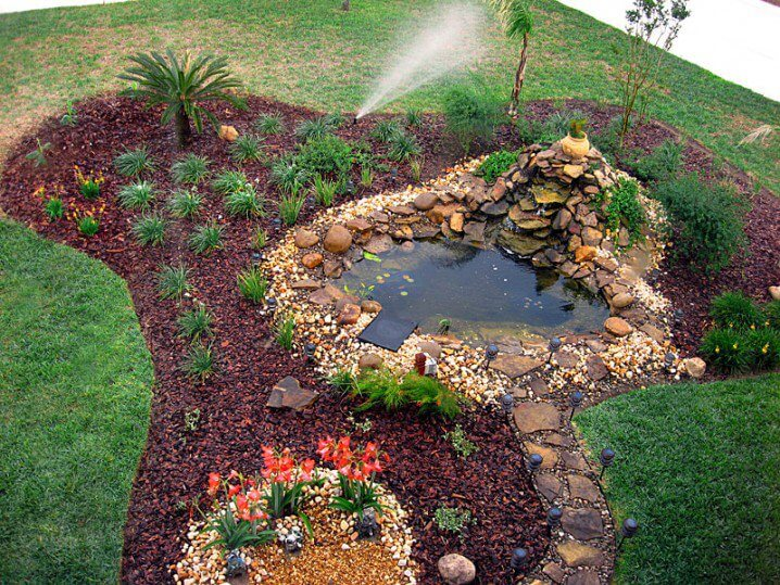miniwaterval met vijver - johnstonefitness.com