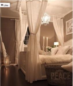 romantische slaapkamer - apartmenttherapy.com