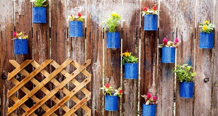Blikjes met bloemen - cieradesign.com