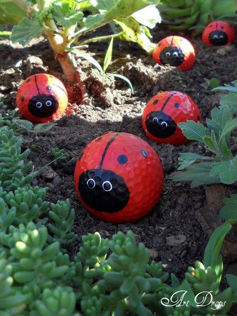 DIY golfballen - artdrops-tatjana.blogspot.nl