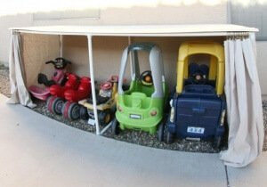DIY kindergarage - momendeavors.com