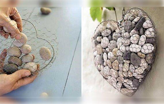 DIY - stenen hart - thegardenglove.com