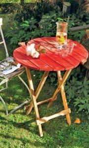 DIY vouwbaar tafeltje
