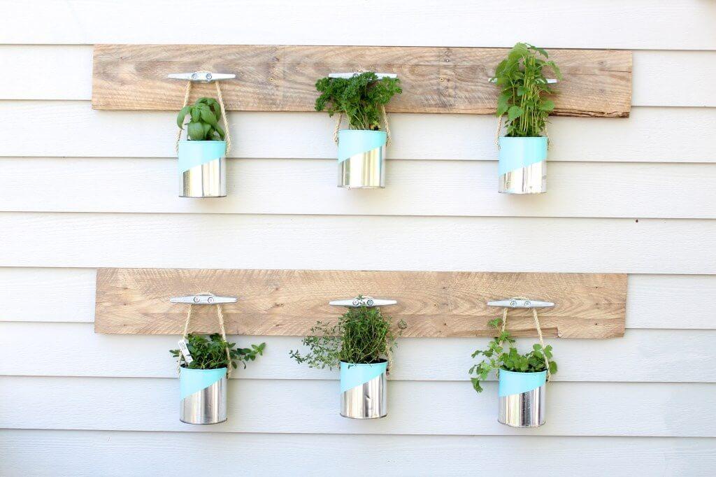 Verticaal tuinieren 27 diy idee n ik woon fijn - Deco originele muur ...