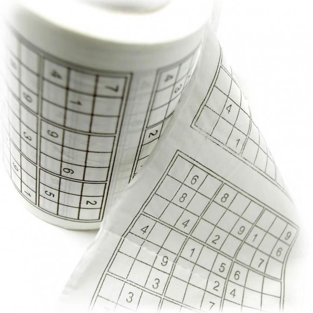 Sudoku wc-papier