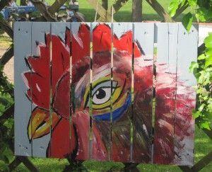 schilderkunst in persoonlijke tuin