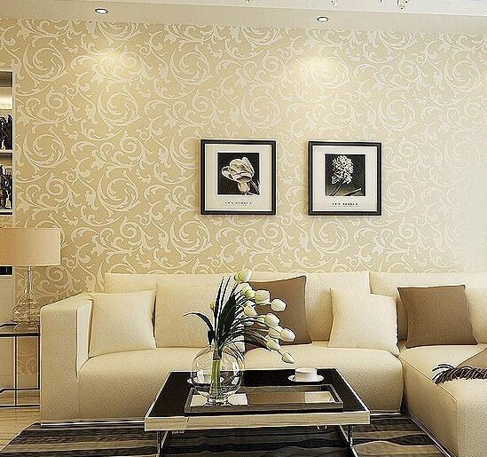 15 idee n voor de muur van je woonkamer ik woon fijn for Behang voor slechte muren