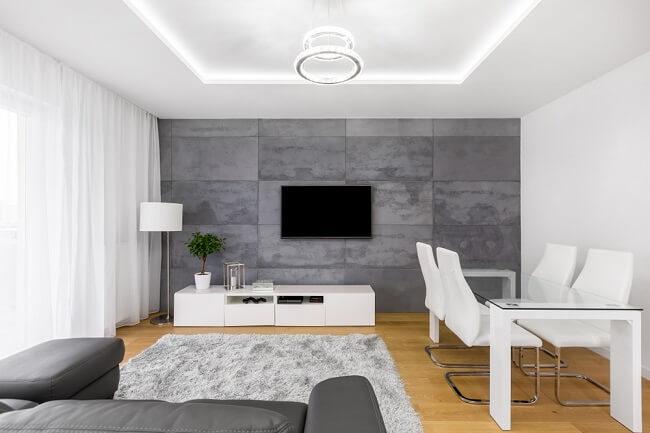 Beton met lichte vloer