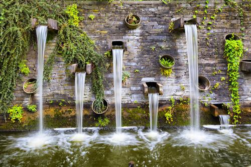 Watervallen geven rust