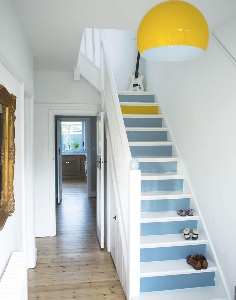 Smalle hal inrichten 15 tips ik woon fijn - Gang met trap ...