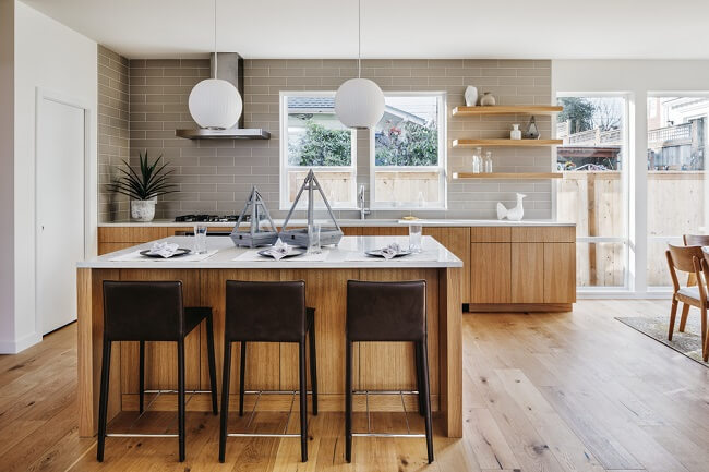 Lichtgekleurde keuken