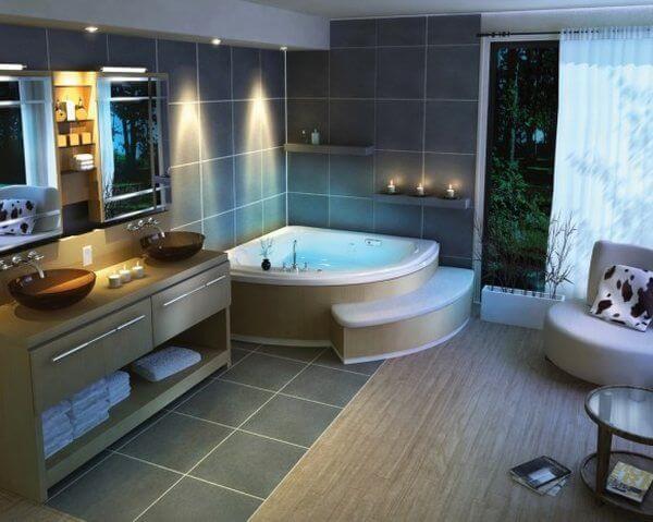Spa Badkamer Ontwerp : Badkamer voorbeelden ikwoonfijn