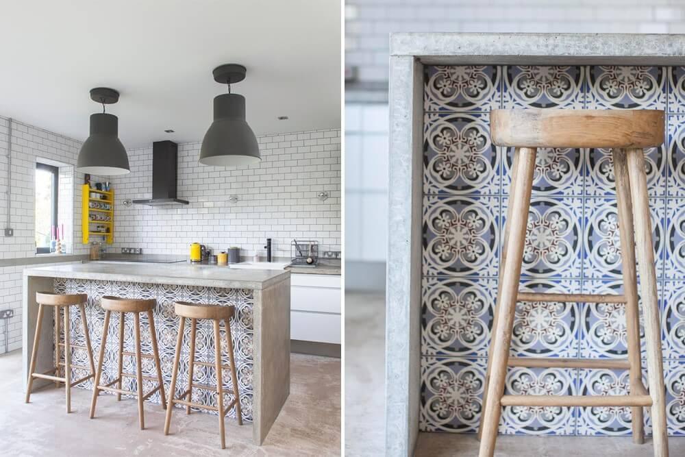 Keuken Met Beton : Populair keuken steigerhout beton ve belbin