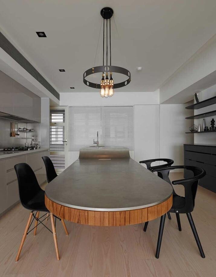 betonnen keuken