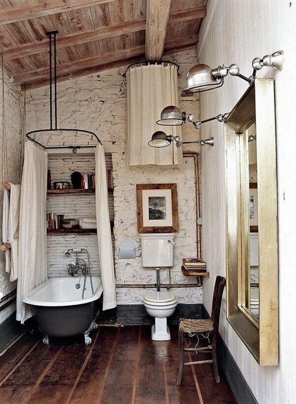 industriele badkamer klein
