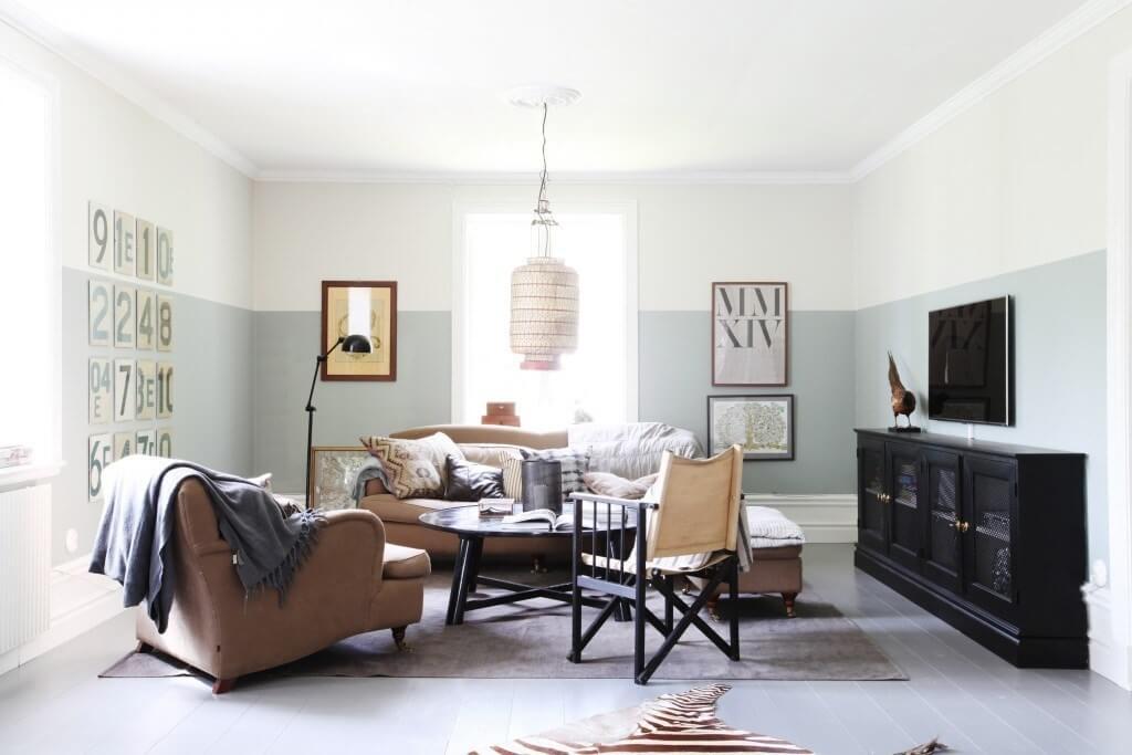 Kleur Muren Woonkamer : 15 ideeën voor de muur van je woonkamer ik woon fijn
