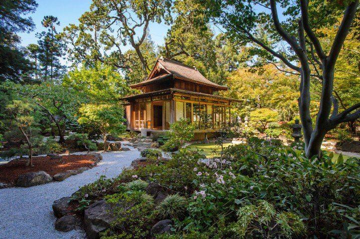 Japans tuinhuis
