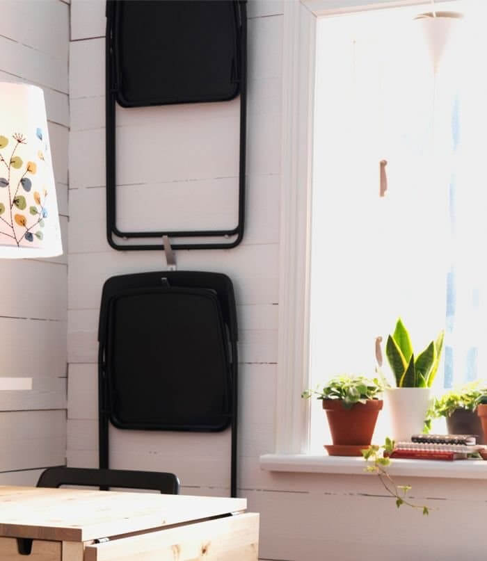 vouwbare stoelen - apartmenttherapy.com