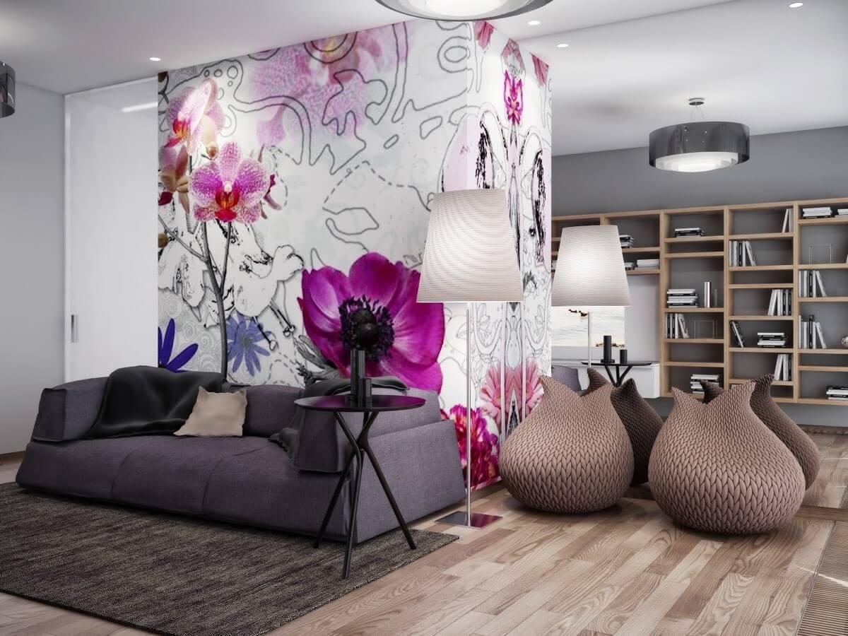 Woonkamer Wand Ideeen : 15 Ideeën voor de muur van je woonkamer Ik ...