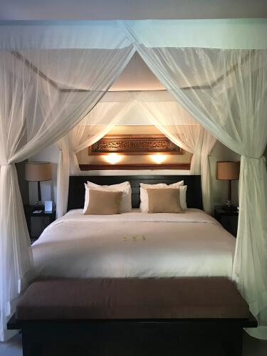 Hemelbed in kleine slaapkamer