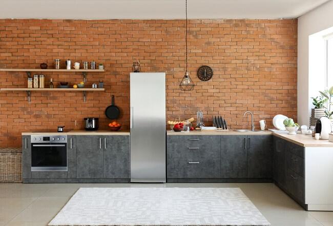 10. Open keuken in grote ruimte