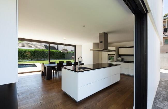 11. Open keuken met buitenruimte