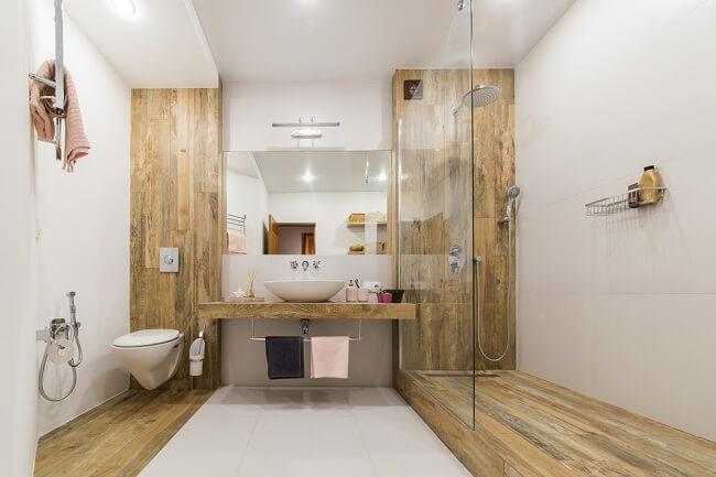 6. Scandinavische badkamer met inloopdouche