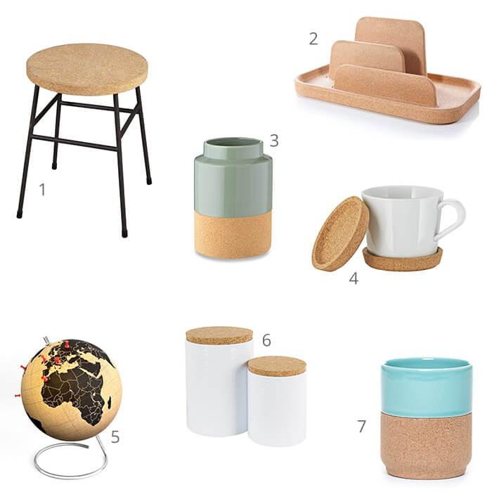 7 kurken accessoires voor jouw woning