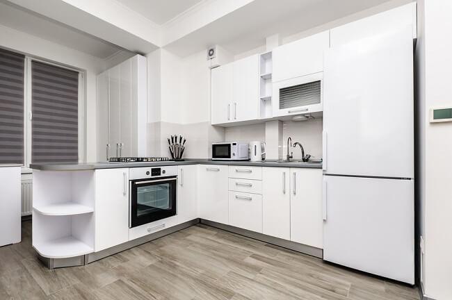 8. Eenvoudige keuken