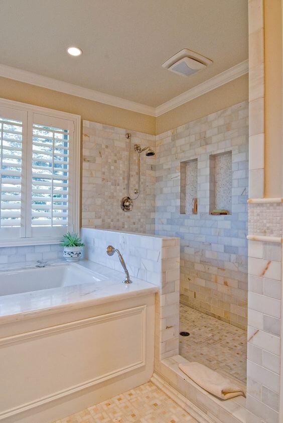 Badkamer met inloopdouche: 8 voorbeelden ter inspiratie  Ik woon fijn