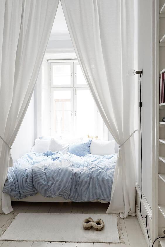 Bekend Kleine slaapkamer inrichten: 15 handige tips! | Ik woon fijn &TS71