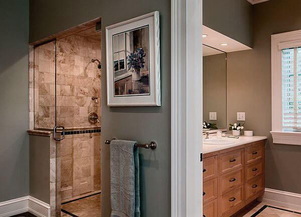 Badkamer met inloopdouche voorbeelden ter inspiratie ik woon fijn